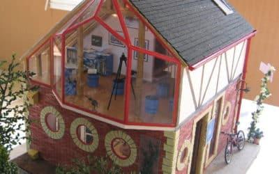 La maison du bagueur (protection des oiseaux marins) de Cathy