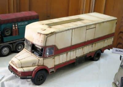 Camion en plasticard de Jean-Paul Guyot