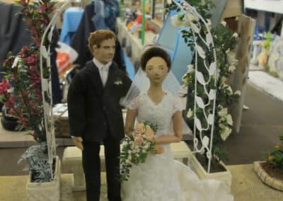 Un mariage (Framboise)
