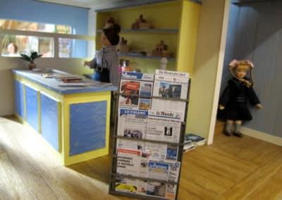 La maison de la presse : le comptoir